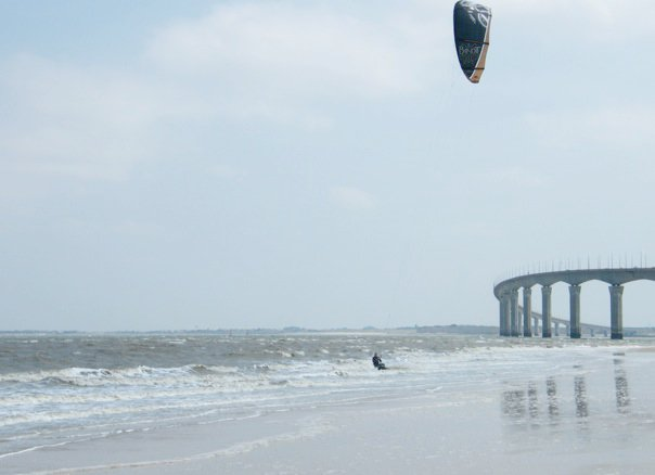 Kitesurfing is also good!