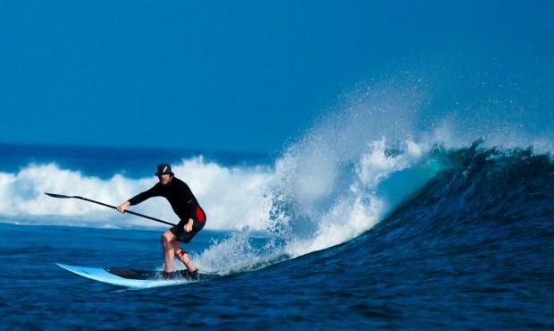 Pete Cockill Maldives backside