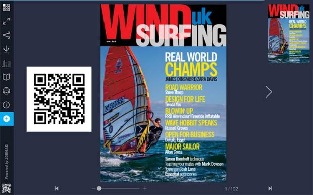 WindsurfingUK magazine issue 1