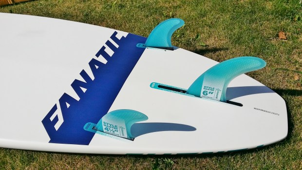 Fanatic Stylemaster 2017 9ft fin configuration