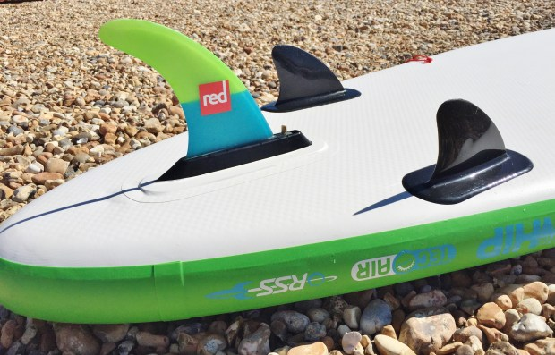 Red Paddle Co The Whip fin configuration
