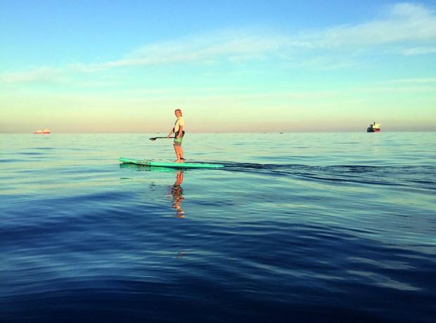Tom straights paddle
