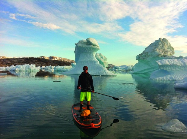Paul Hyman in Greenland