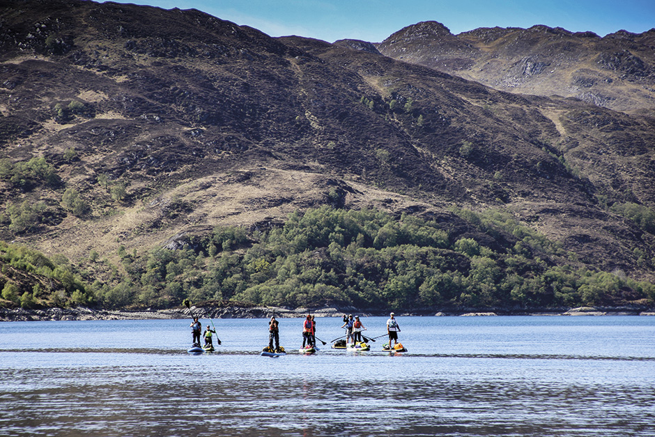 Welcome to the west coast of Scotland our number one favourite SUP place in the world!