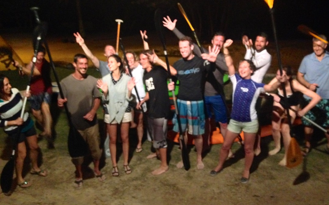 Spectacular crew, with Spectacular Bioluminescence!