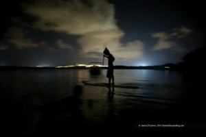 Paddling at Night
