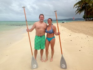 Couples Stand Up Paddle Lesson