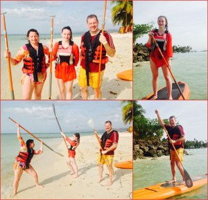 Family Beginner Stand Up Paddle Lesson