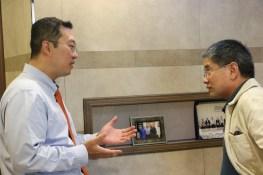 Dr. Park and Dr. Run Wang