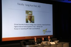 Dr. Park Presents Research Findings