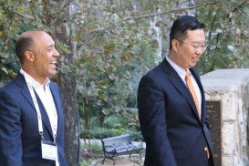 Dr. Park and Dr. Robert Valenzuela