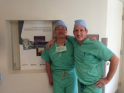 Dr. Park with Dr. Paul Perito