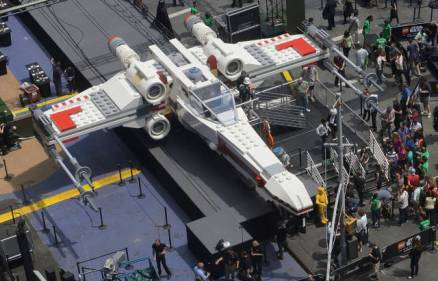 Full size Lego X-Wing Fighter