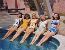 Bathing beauties, 1944