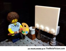 cute-bob-ross-lego-painting-1