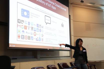 Prof. Monica Lam from Stanford introduces a A Distributed Open Social Platform for Mobile Devices in her Keynote.
