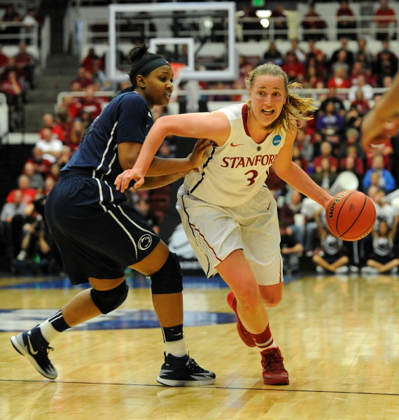 Women's basketball routs Penn State to join Elite Eight ...