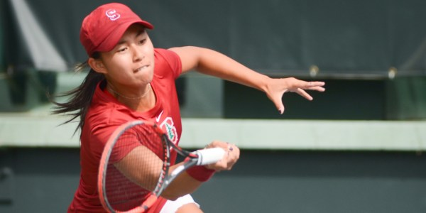 Challenges continue for women's tennis against Harvard ...