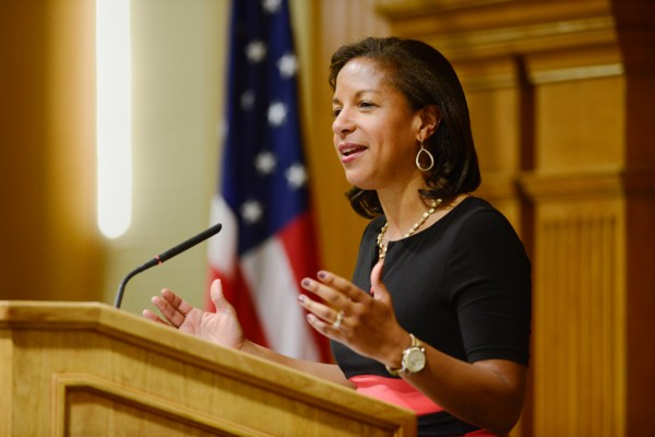 National Security Advisor Susan Rice urges students to ...