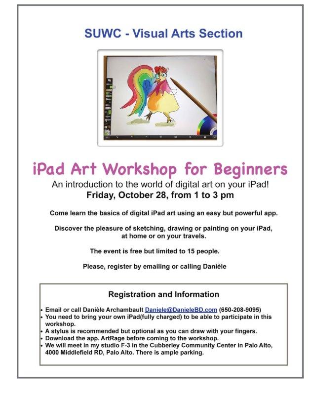 iPad Art Workshop with Daniele Archambault