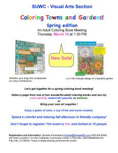 Coloring Book March 10