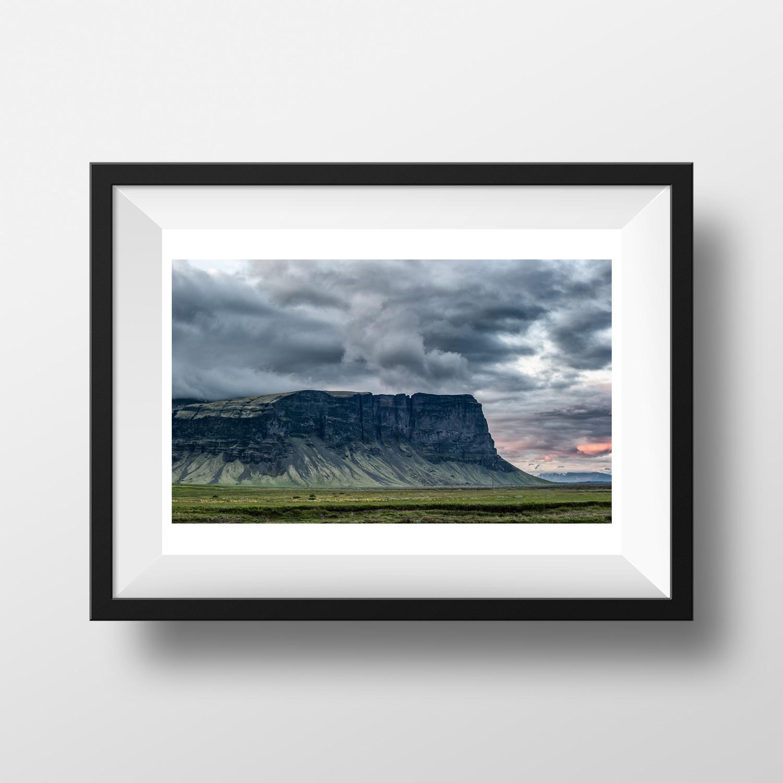 Paysage Islande Couleur Voyage