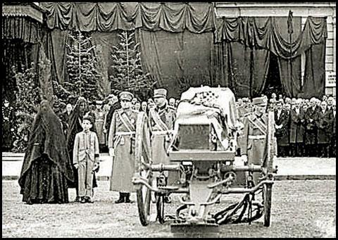 Сахрана југословенског краља у Београду (Извор: Вечерње новости)