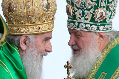 Патријарх московски и целе Русије Кирил долази 13. новембра у тродневну посету Србији. Извор: ИТАР-ТАСС