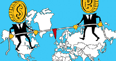 Dollar-Ruble-US-Russia