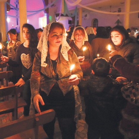 Ирачки хришћани су у страху од џихадиста: Багдад (Фото: Бета)
