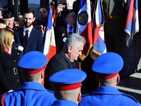Томислав Николић на обиљежавању годишњице Колубарске битке