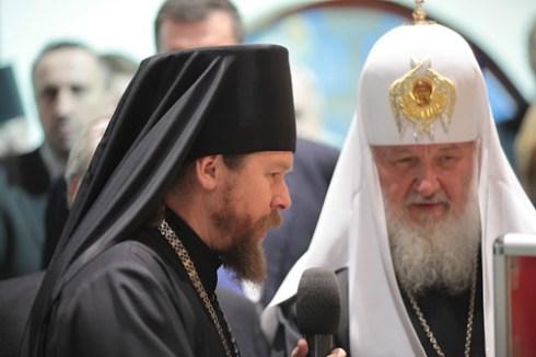 Архимандрит Тихон и патријарх Кирил