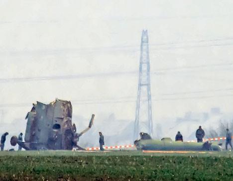 """Ми-17 нема класичну """"црну кутију"""", а """"читач"""" уређаја који бележи параметре лета смо позајмили од Македоније Фото Танјуг"""