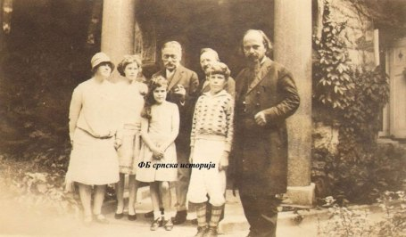 Михајло Пупин и Владика Николај (Кликните на слику за увећање)