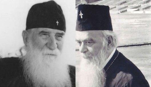 Свети авва Јустин и свети владика Николај (Извор: Србин.инфо)