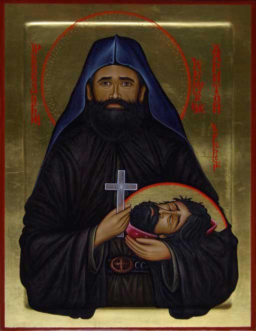 Икона Преподобномученика Харитона, рад црноречких монаха