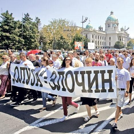 Колона сећања поводом страдања Крајишника (Фото: Ж. Јовановић)