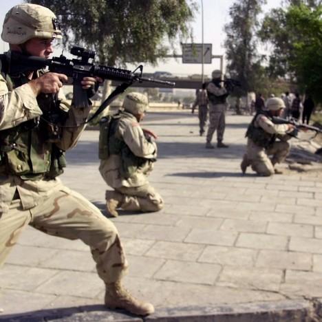 Америчка војска у акцији (Фото: Бета-АП)