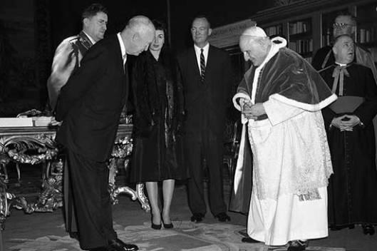 Двајт Ајзенхауери папа Јован XXIII