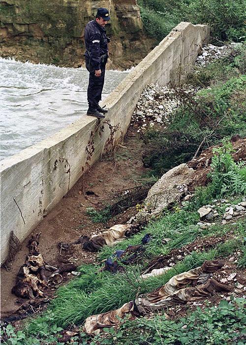 Место злочина - Радоњићко језеро, Метохија / Фото: Време