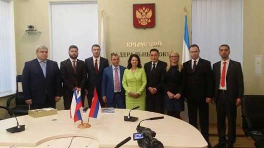Делегација Патриотског блока Србије на Криму
