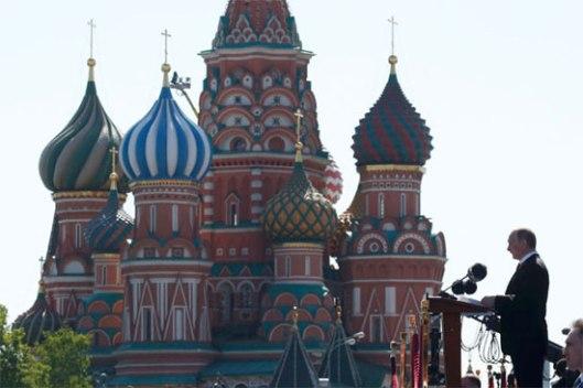 Говор Владимира Путина поводом Дана победе (Фото: Ројтерс)