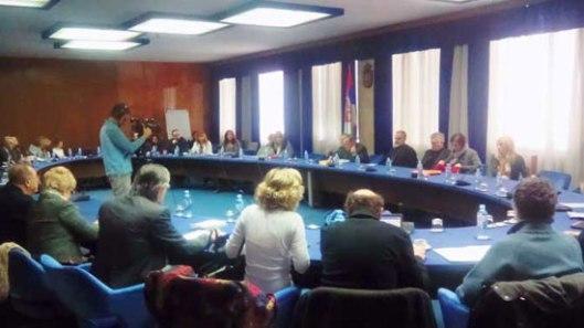 Са седнице Националног просветног савета (Фото: С. Гуцијан)