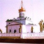 макет восстанавливаемого храма в Станьково