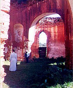 Свято-Николаевский храм в Станьково до восстановления