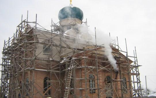 Восстановление Станьковской Свято-Николаевской церкви