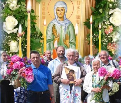 Могила Валентины Минской - место паломничества