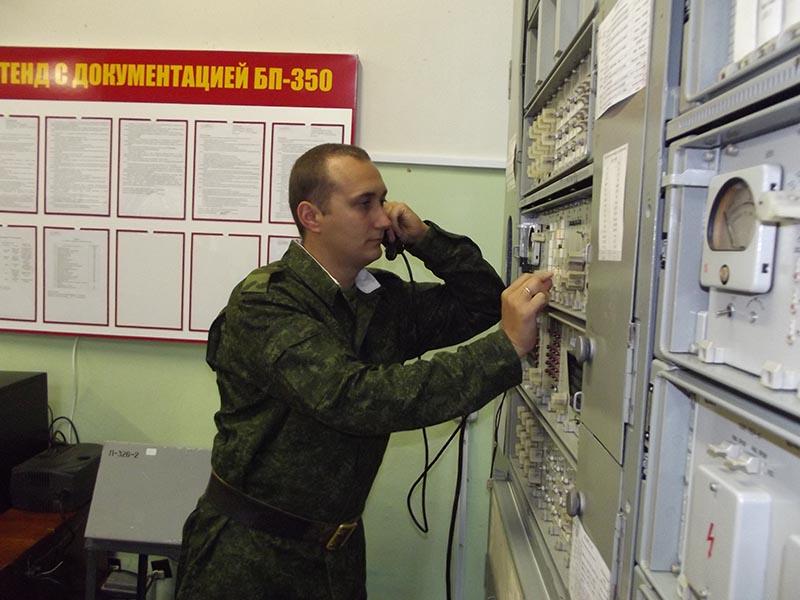 Узел связи в Станьково.