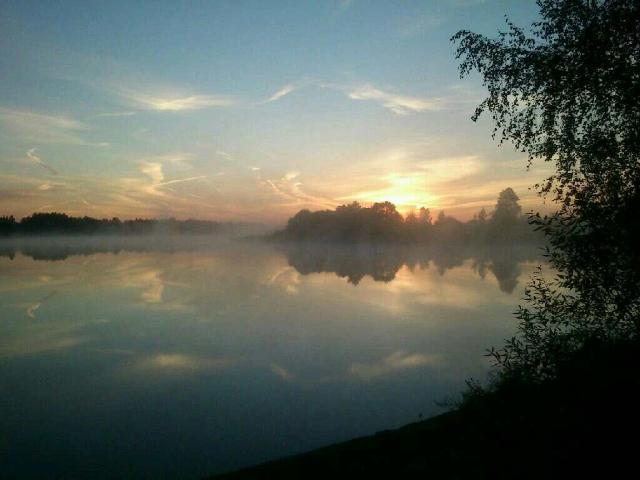 Озеро в Станьково. Лето - 2012