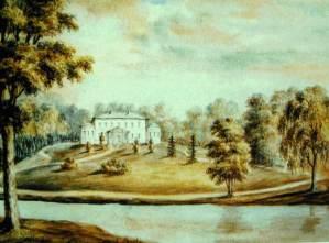 Акварель Наполеона Орды. Дворец Станьково
